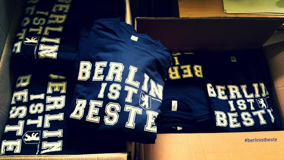 BERLIN IST BESTE T-SHIRT