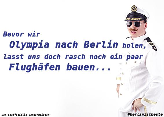 Der inoffizielle Bürgermeister - Berlin-Ist-Beste