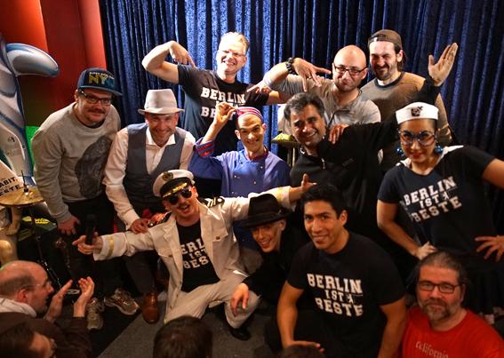 Die BESTE Show @ Café Moabit - BERLIN ist BESTE 2014