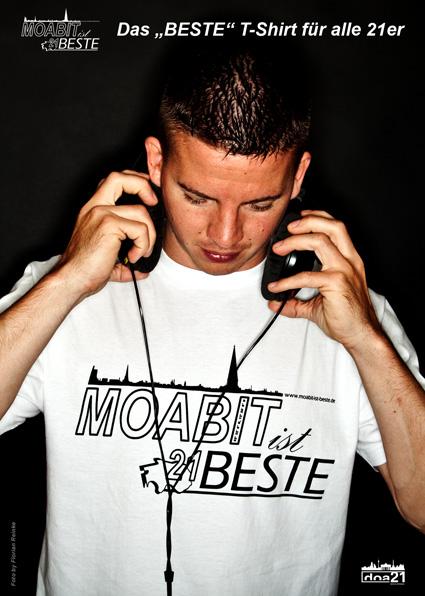 Moabit-Ist-Beste // T-Shirt