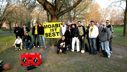 Moabit chillt an der Spree 2010