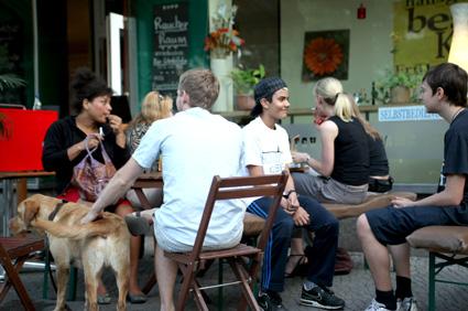 Moabit Ist Beste @ Turmstrasse Rathaus Cafe 2010
