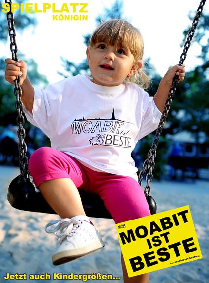 Moabit Shirts // Spielplatz Königin